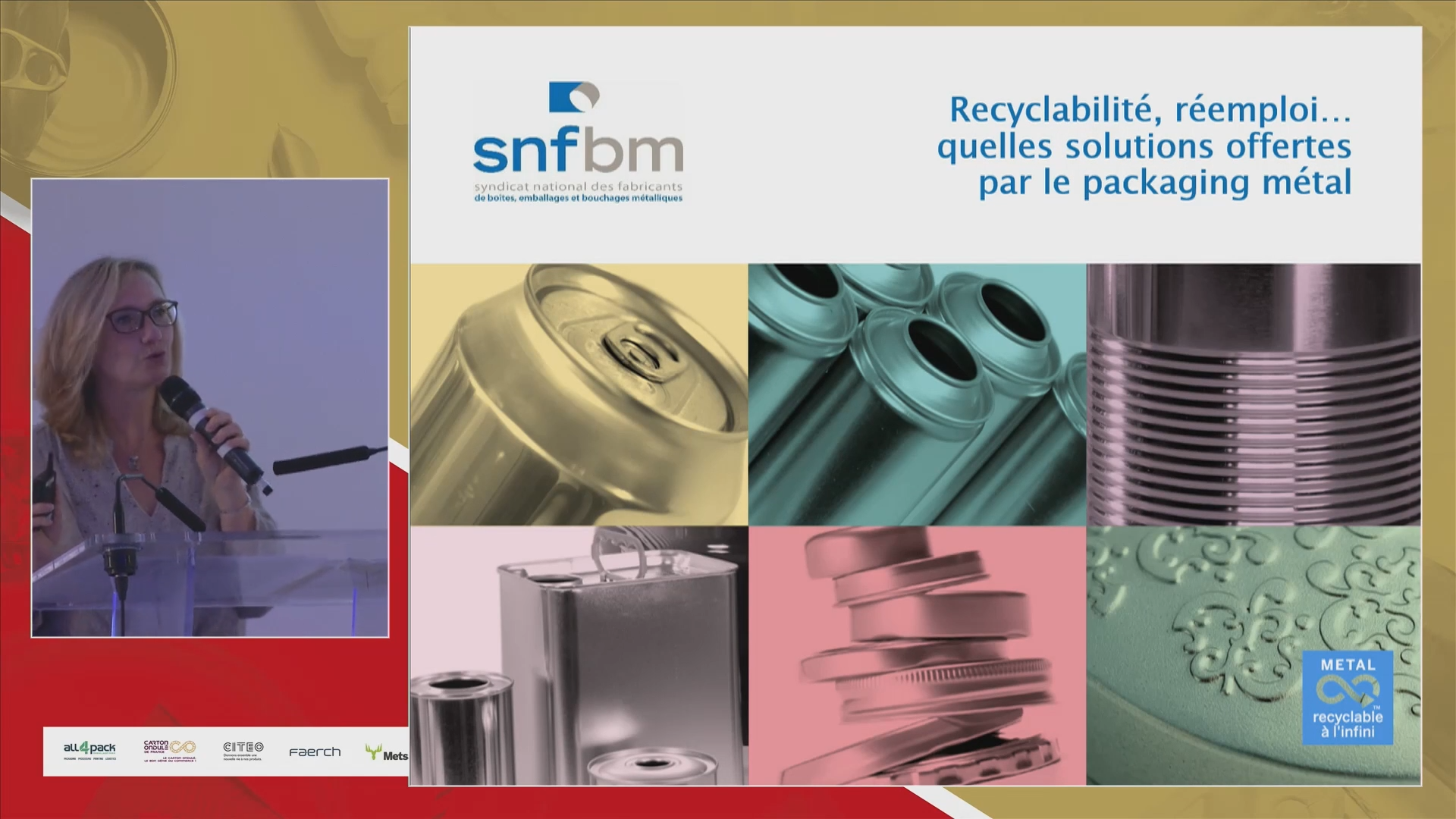 SNFBM Conférence annuelle emballages 2021